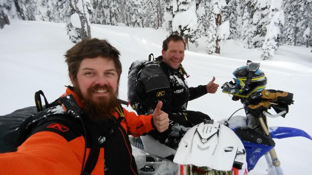 Snowbike specific training